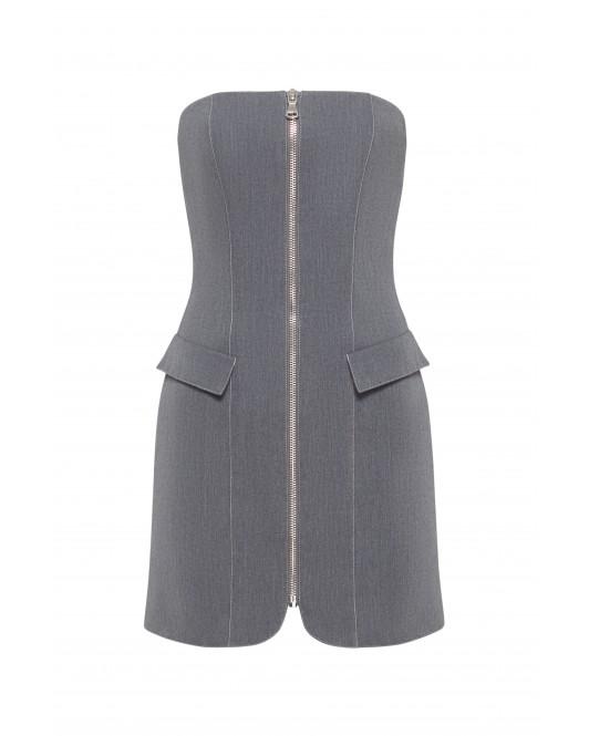 Корсетное платье (ДЖИНС)